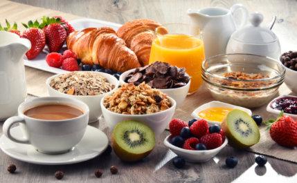 Dicas para um café da manhã saudável