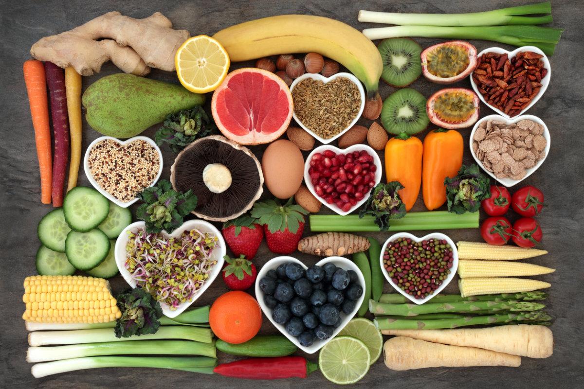 Alimentos ricos em vitaminas que você precisa consumir