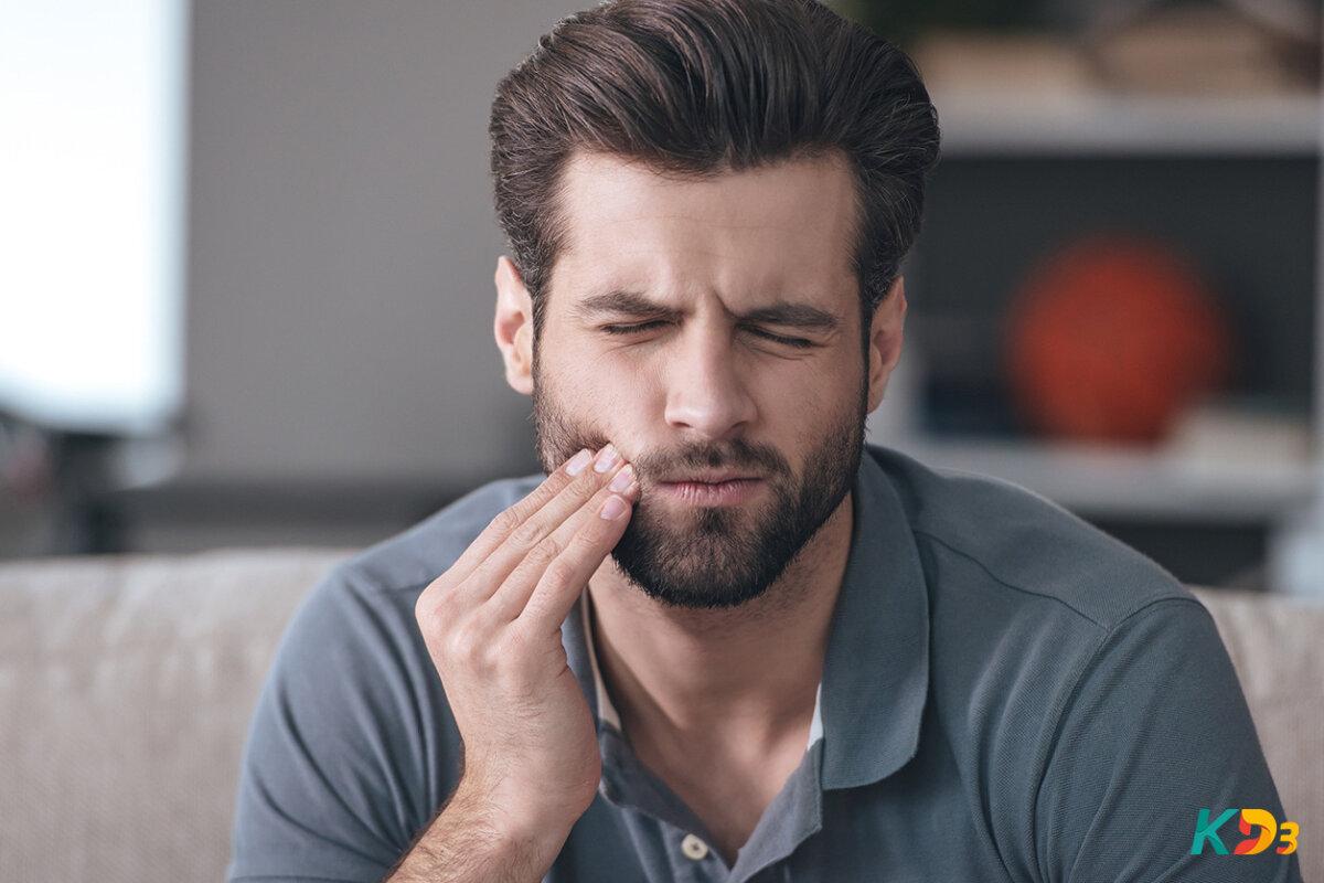 Dentes fracos e quebradiços