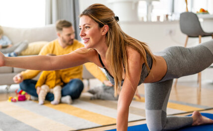 7 maneiras de se manter motivado para treinar em casa