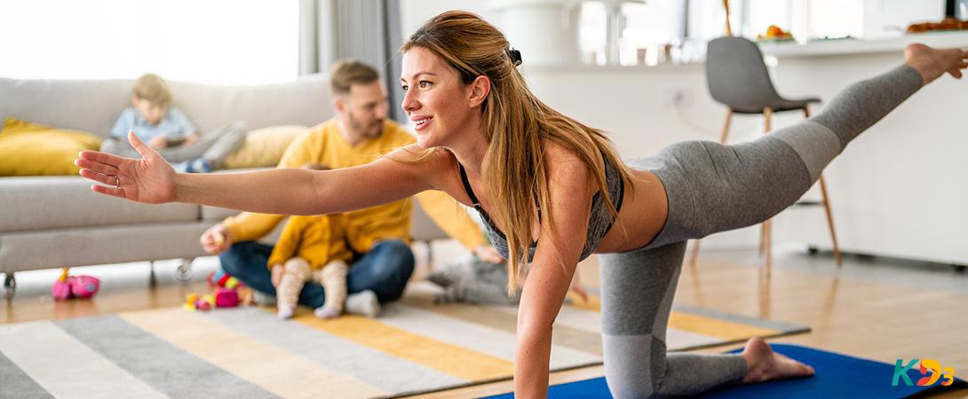 Treinar em casa: 7 maneiras de se manter motivado