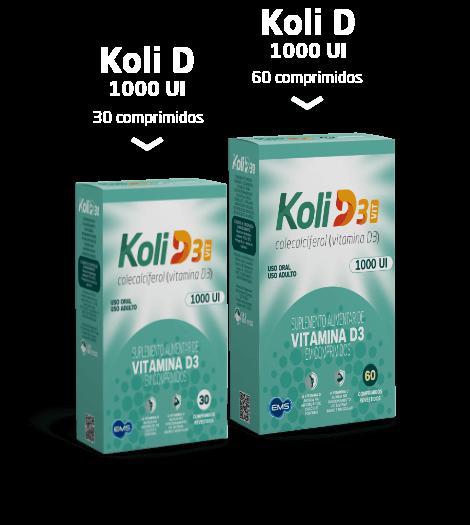 Conheça a linha de produtos KoliD3 Vit